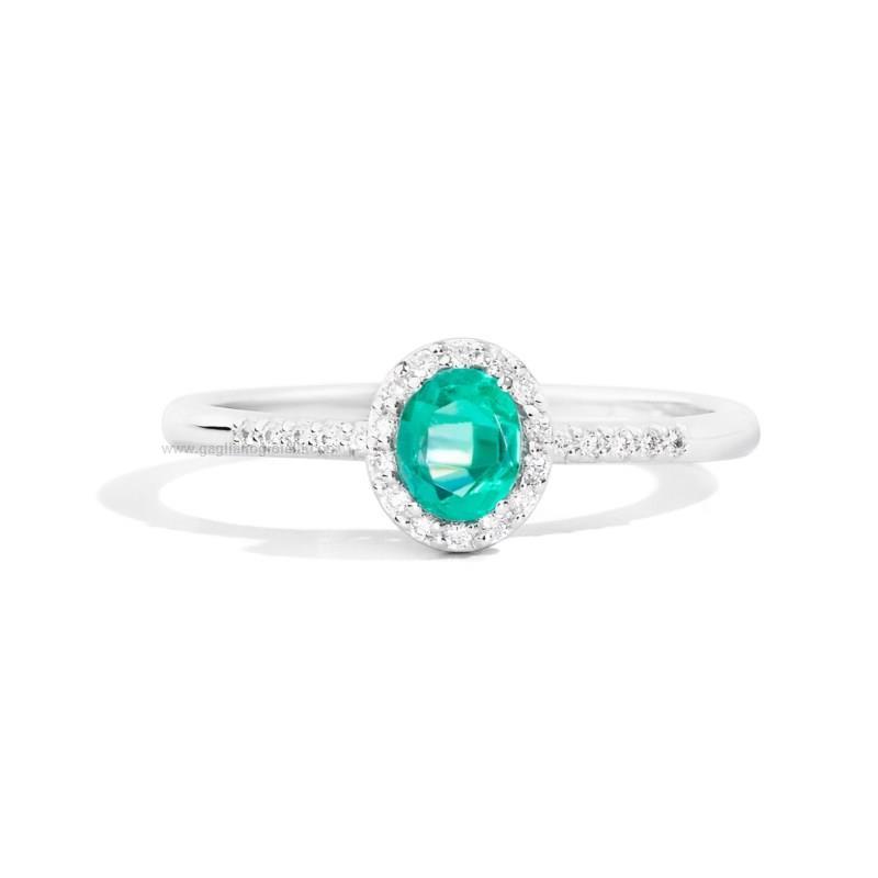 nuovo stile 957f4 f75c2 Anello Donna Recarlo gemma