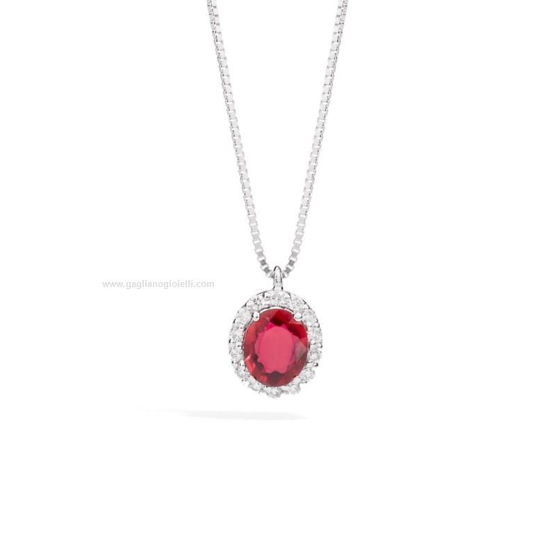 acquista per ufficiale forma elegante pacchetto alla moda e attraente Collana Donna Recarlo gemma