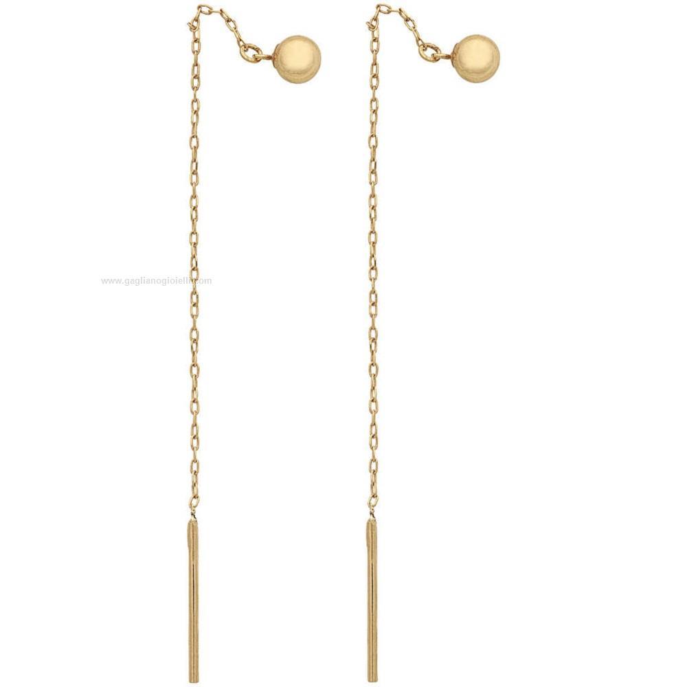 100% autentico vendita calda vari stili Orecchini AMBROSIA Oro Aoz 379 Oro giallo 750 Donna - Gioielleria ...