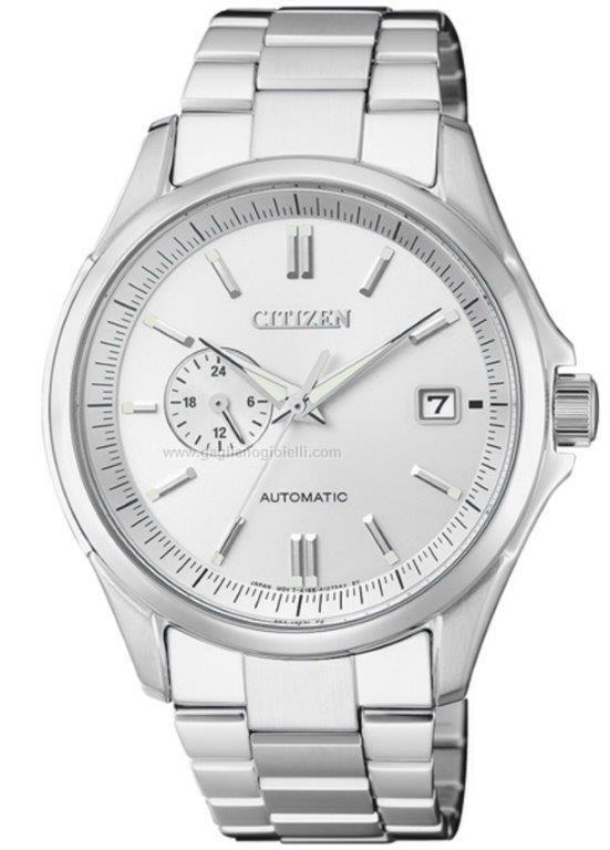 data di rilascio: 24d06 ff34f Orologio Automatico Citizen Meccanico Np3021-54a Acciaio 40 mm ...