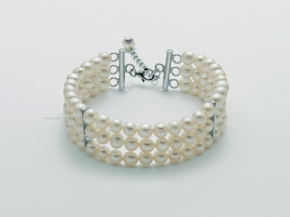migliori scarpe da ginnastica 2daed 95d87 Bracciale Donna Miluna giochi di perle
