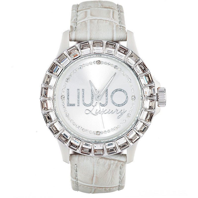 Orologio Quarzo Liu jo Luxury baguette Tlj214 Resina 40 mm Donna ... d013f971def