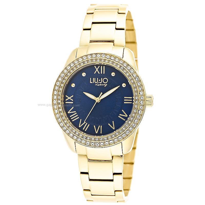 992504ed8fd57 Orologio Quarzo Liu jo Luxury princess Tlj899 Acciaio dorato 36 mm ...