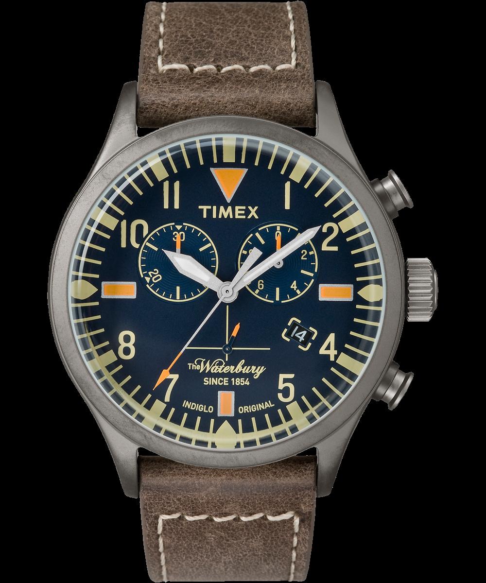 Orologio Quarzo Timex The Waterbury Tw2p84100 Acciaio 42