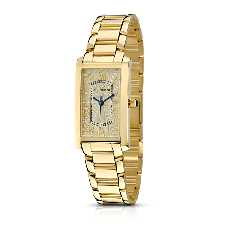 grande vendita 9d402 6ced9 Orologio Quarzo Donna Philip watch patton gold